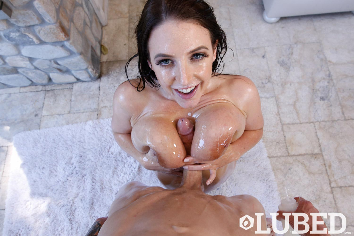 Angela white lubed