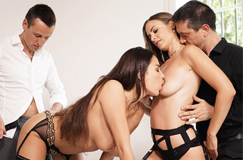 Anissa Kate Luxure Threesome