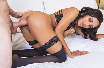Anya Ivy Fucks in Lingerie
