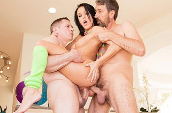 Megan Rain Double Penetrated