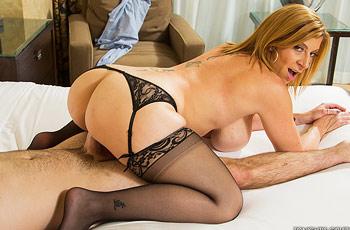 Sara Jay Cougar in Action