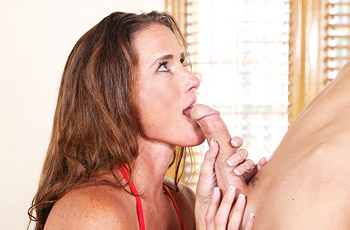 Sofie Marie Drilled with Young Cock