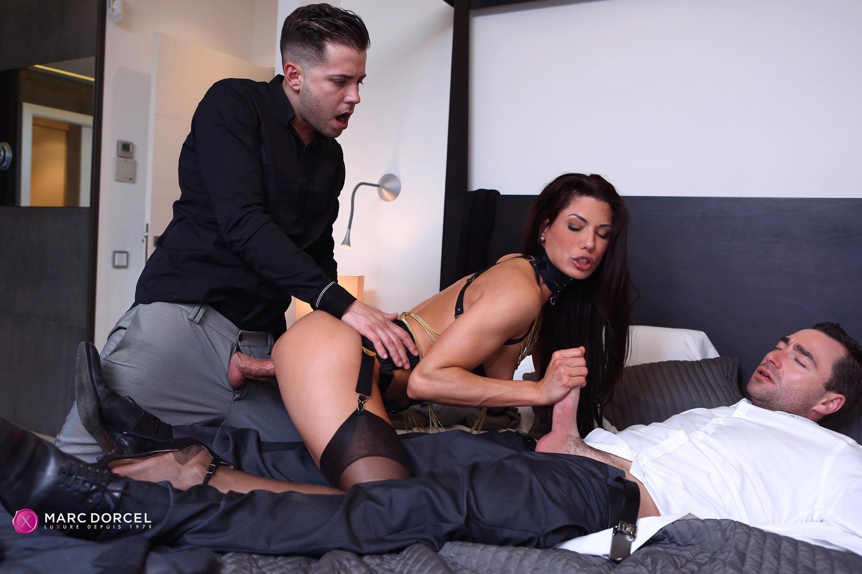 Cumming deep in his ass