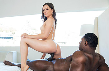 Kasey Warner Interracial Action