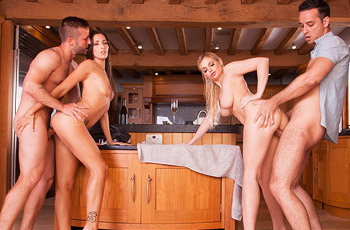 Clea Gaultier Couples Orgy