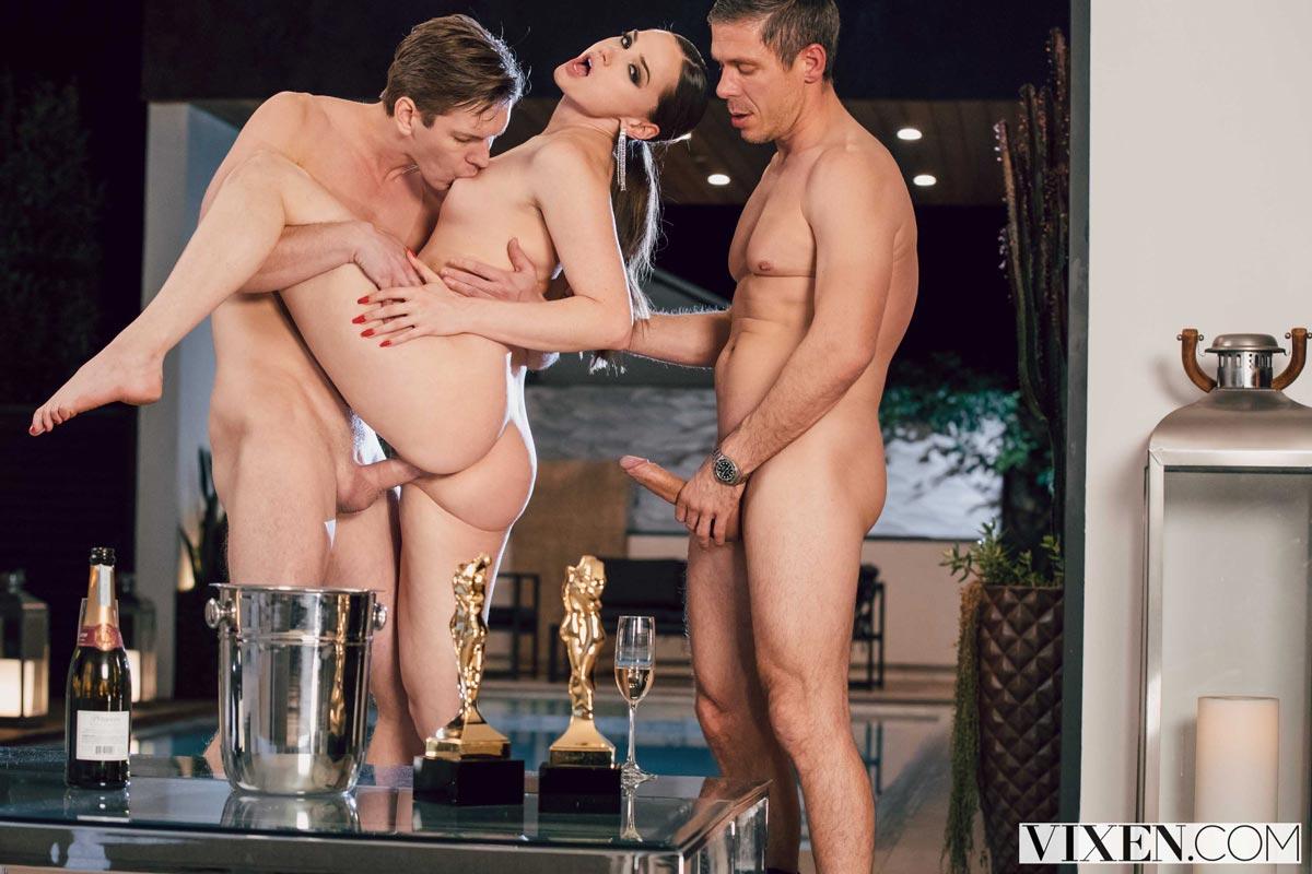 Black White Bisexual Threesome