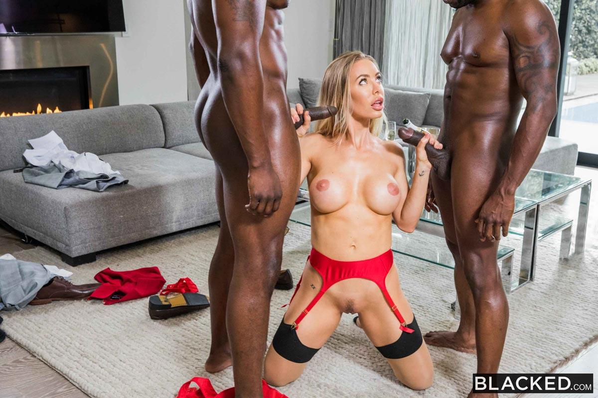 threesome Nicloe video in