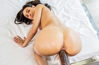 Eliza Ibarra Rides a Black Dong
