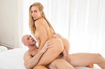 Nicole Aniston Fit Blonde Drilled