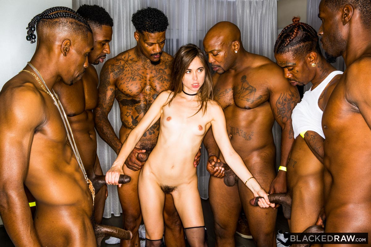 Riley Reid Christmas Gangbang