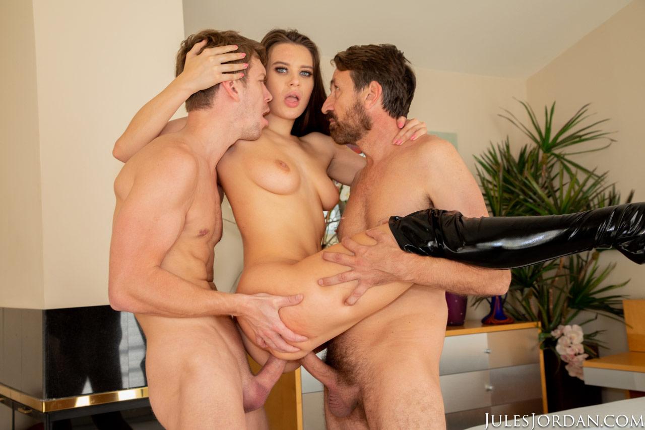 Lana rhoades threesome porn