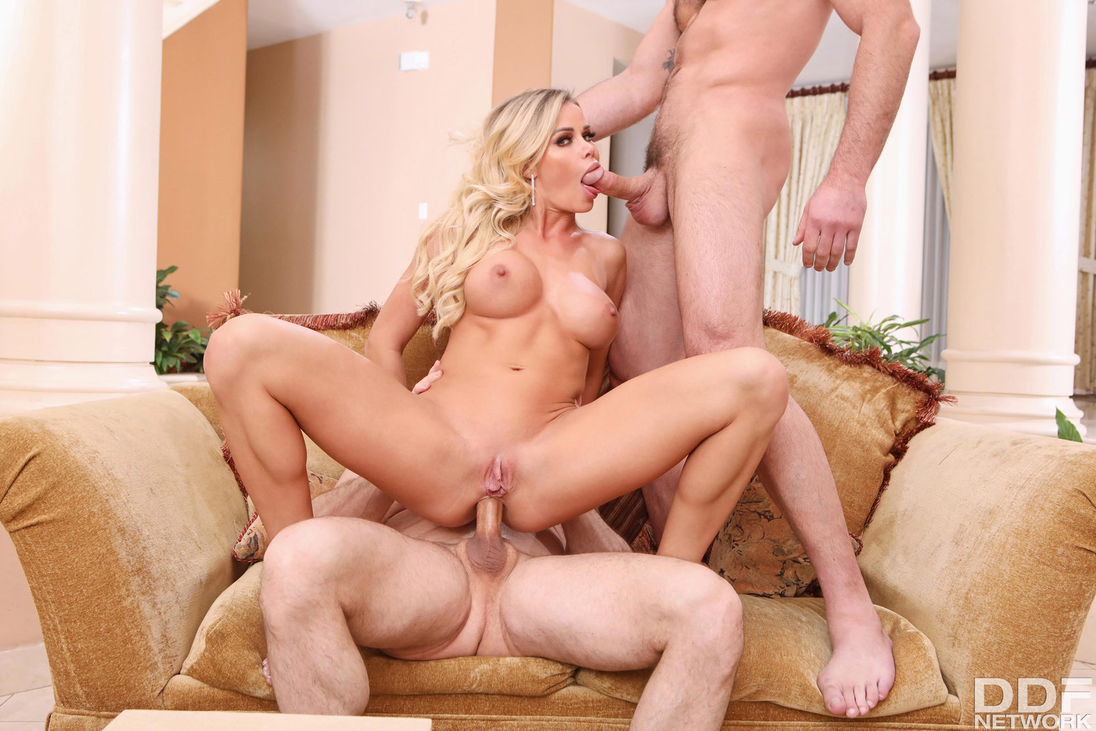 Cory Chase Anal Threesome