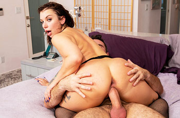 Ivy Lebelle Anal in Stockings