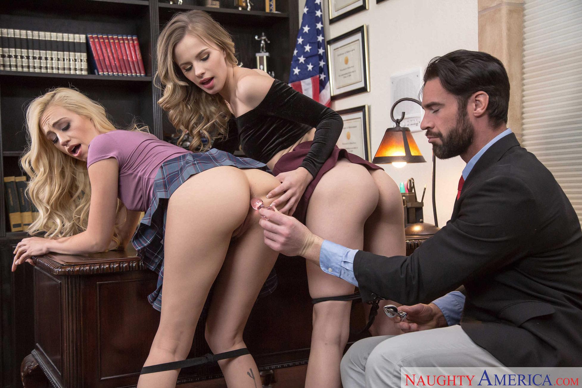 Jillian Janson Anal Threesome