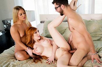 Lauren Phillips Milfs in Threesome