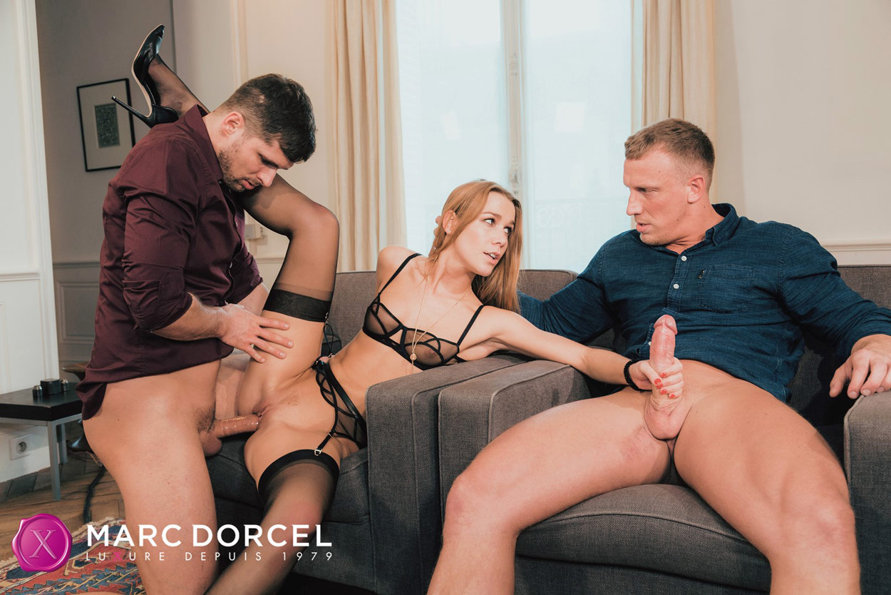Alexis Crystal Dp Threesome