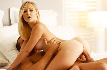 Natalia Queen Tiny Blonde Rides Cock