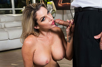 Kayla Paige Pounded in Stockings