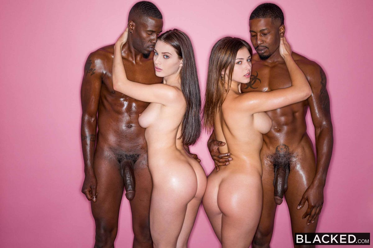 Interracial Orgy Sex