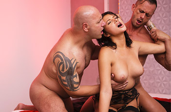 Anna Polina Hardcore Threesome