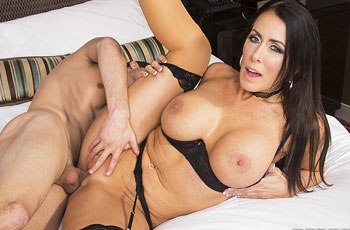 Reagan Foxx Milf in Action